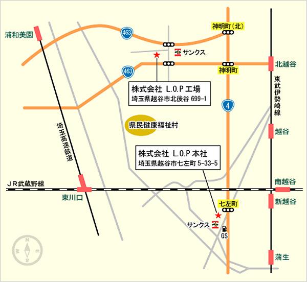 会社地図画像