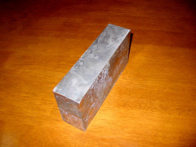 鉛ブロック加工製品